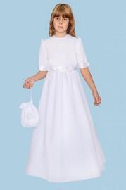 Sukienka żyłka kr. rękaw na kole